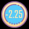 -2.25