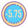 -5.75