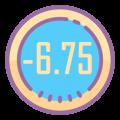 -6.75
