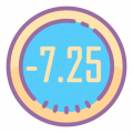 -7.25