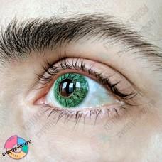 Офтальмикс butterfly 1 тоновые зелёные линзы