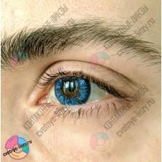 Офтальмикс colors NEW голубые линзы (аква блю)