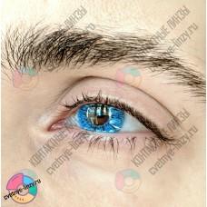 Офтальмикс butterfly 1 тоновые голубые линзы
