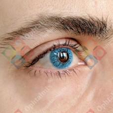 Офтальмикс butterfly 1-тоновые голубые линзы