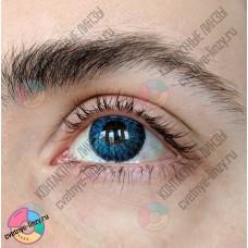 Офтальмикс colors NEW синие линзы (емеральд)