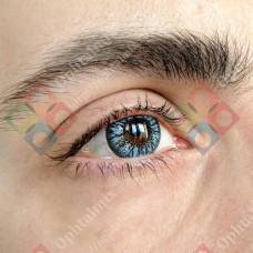 Офтальмикс colors NEW голубые линзы (скай блю)